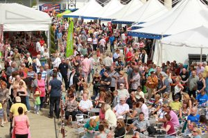 60,000 people are expected at Cardiff's International Food Festival