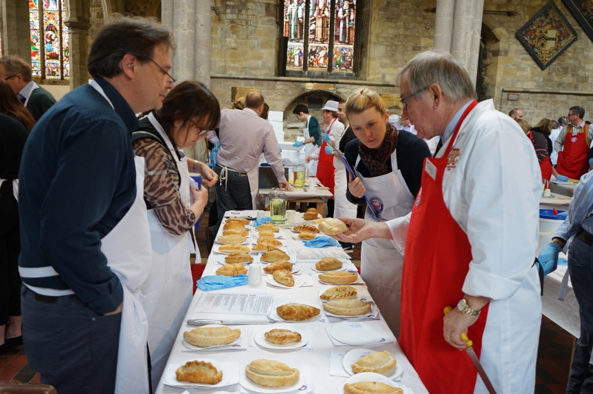 British Pie Awards: Judging